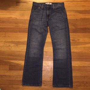 Men's Levi Blue Jeans Boot Cut
